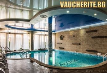 """Нощувка със закуска + ползване на вътрешен басейн с МИНЕРАЛНА ВОДА, джакузи, сауна и парна баня от хотел """"Енира"""", Велинград"""
