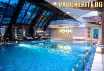 Нощувка със закуска + ползване на вътрешен минерален басейн и СПА център от хотел Персенк 5*, Девин