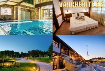 Делнична почивка до Хисаря! 2 или 3 нощувки със закуски + ползване на вътрешен басейн, СПА център и разходка в конната база от хотел Тракиец, с. Житница