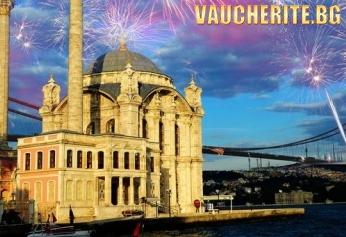 Нова Година в Истанбул! Автобусна програма с нощен преход и 3 нощувки със закуски в хотел 2* или 3*, Новогодишна Гала вечеря на яхта по Босфора и посещение на мол FORUM + водач по време на престоя