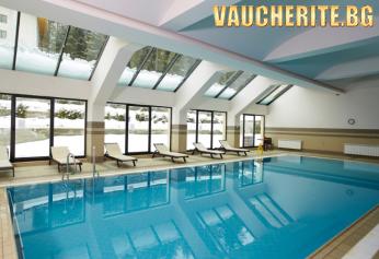 Нощувка със закуска и вечеря + ползване на вътрешен басейн и СПА център от хотел Феста Уинтър Палас 5*, Боровец
