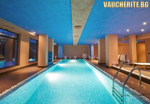 Нощувка със закуска + ползване на минерален басейн, СПА център и транспорт до лифта в Банско от хотел Cornelia Boutique Hotel & SPA, Разлог