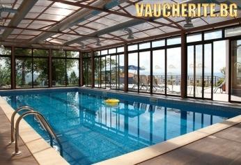 Нощувка със закуска и вечеря + ползване на топъл басейн, сауна, парна баня, фитнес, интернет и паркинг от Парк хотел Арбанаси