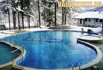 Нощувка със закуска и вечеря + ползване на топъл външен минерален басейн, парна баня и сауна от хотел Балкан, с. Чифлик