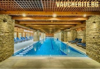Нощувка със закуска + ползване на външен и вътрешен басейн, СПА център Катарино, два масажа, арома вана, маска за лице и детски кът от ''Катарино хотел & СПА'', Разлог