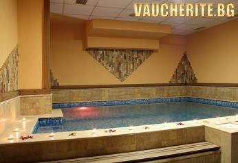 Нощувка със закуска и вечеря + ползване на вътрешен минерален басейн от хотел Лъки Лайт, Велинград
