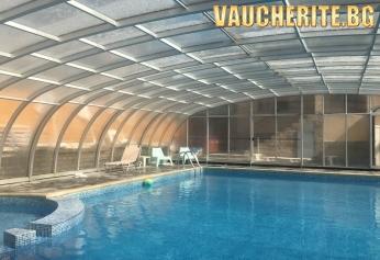 Нощувка със закуска + ползване на басейн с минерална вода, парна баня, джакузи, интернет и паркинг от хотел Прим, Сандански