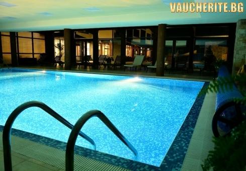 """Нощувка или нощувка със закуска + ползване на басейн, сауна, парна баня и фитнес от хотел """"Роял Банско"""""""