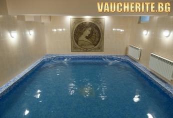Нощувка със закуска + ползване на вътрешен басейн с МИНЕРАЛНА ВОДА и релакс център от хотел Астрея, Хисаря