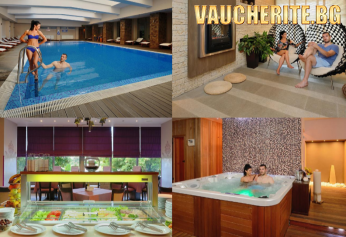 """Нощувка със закуска + ползване на вътрешен минерален басейн, сауна, парна баня, външно джакузи, солна сауна и релакс зона от хотел """"Сана СПА"""", Хисаря"""