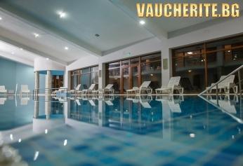 Нощувка със закуска, обяд и вечеря + ползване на вътрешен отопляем басейн, сауна, парна баня, релакс зона и детски кът от хотел Панорама Ризорт, Банско