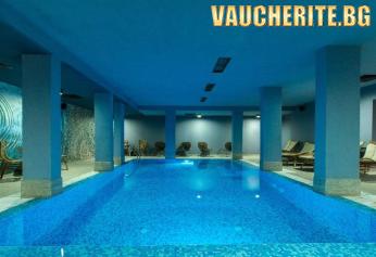 Нощувка със закуска и вечеря + ползване на вътрешен басейн, интернет и ски гардероб от Бутиков хотел Ори, Банско