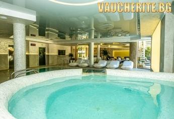 Закуска + минерални басейни, СПА център, фитнес и паркинг от СПА хотел Рич, Велинград