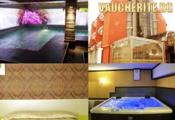 Закуска или закуска и вечеря + минерален басейн, сауна, парна баня и джакузи от хотел Виа Лакус , Сапарева Баня