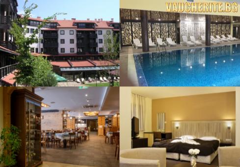 Великден в Банско! 3 нощувки на база All Inclusive Light и Празничен обяд + вътрешен басейн и СПА център от хотел Каза Карина