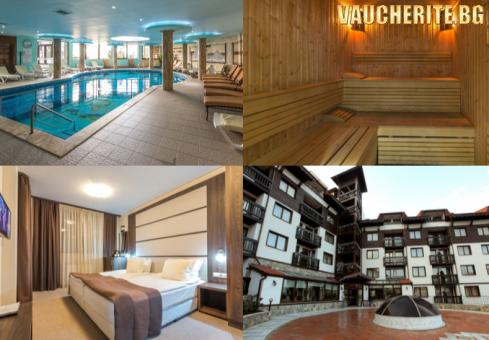 Закуска, вечеря и напитки + вътрешен отопляем басейн и релакс център от хотел Зара, Банско