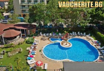 Закуска или All Inclusive + басейн от хотел Перла Плаза, Приморско