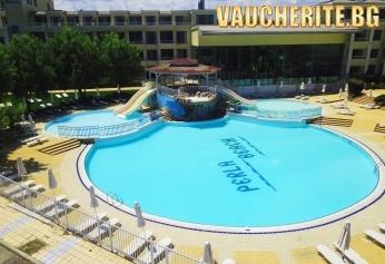 Закуска или All Inclusive + басейн и фитнес от хотел Перла бийч I&II, Приморско