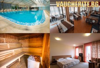 Закуска или закуска и вечеря + минерален басейн и СПА от хотел Вита Спрингс, с. Баня, до Банско
