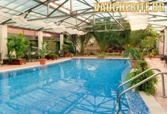 Нощувка + минерален басейн, сауна, парна баня и фитнес от СПА хотел БАЦ, Петрич