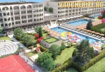 All Inclusive + басейни, анимация и чадъри на Северния плаж от хотел Белведере Александрия, Приморско