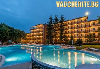 All Inclusive + външен басейн, чадъри и шезлонги от хотел Белица, Приморско