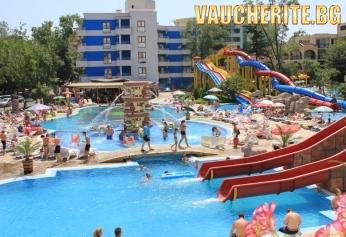 All Inclusive + аквапарк и басейн с чадър и шезлонг от хотел Кубан, Слънчев бряг