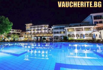 All Inclusive Ulta + басейни, чадър, шезлонг и плажни кърпи на плажа от хотел Хелена Парк, Слънчев бряг