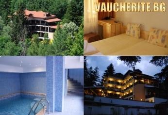 Закуска и вечеря или закуска, обяд и вечеря +  басейн, интернет и паркинг от хотел Илинден, Шипково