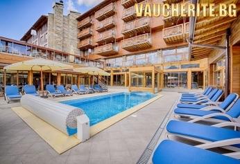 Закуска и вечеря + минерални басейни и луксозен СПА център от Катарино хотел & СПА, Разлог