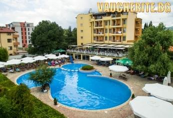 ТОП ОФЕРТА! 4 нощувки със закуски и вечери + 2 басейна ( външен и вътрешен ) с минерална вода и релакс зона от хотел Албена, Хисаря