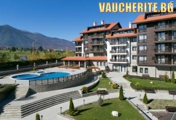 Закуска или закуска и вечеря + басейни, сауна, парна баня и релакс зона от хотел Балканско Бижу, Разлог