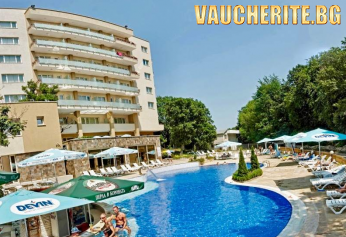 Закуска или закуска и вечеря + открит басейн от хотел Орхидея, Златни пясъци