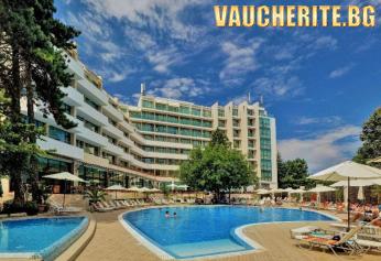 All Inclusive + басейн, фитнес и шатъл до плажа от хотел Мирабел, Златни пясъци