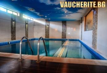 Закуска или закуска и вечеря + минерални басейни, сауна и парна баня от Семеен хотел Алегра, Велинград