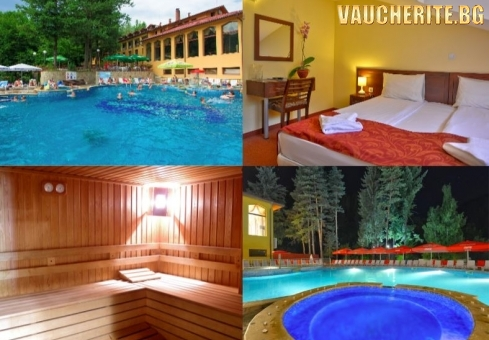Закуска + външен минерален басейн, джакузи, парна баня и сауна от хотел Балкан, с. Чифлик