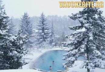 Закуска или All Inclusive Light + целогодишен външен минерален басейн, вътрешен басейн, сауна и паркинг от хотел Виталис, с. Пчелин