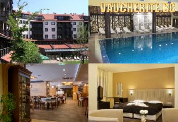 Закуска или закуска и вечеря + закрит басейн и СПА център от хотел Каза Карина, Банско