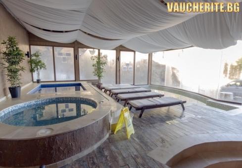 Закуска + релакс зона с вътрешни басейни от хотел Форест Глейд, Пампорово