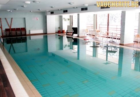 Закуска и вечеря + басейн, сауна, парна баня и лакониум от Клуб хотел Янакиев, Боровец