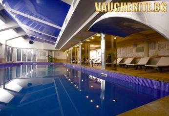 Закуска + закрит минерален басейн и СПА център от хотел Стримон Гардън, Кюстендил