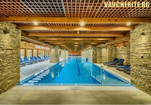 Закуска или закуска и вечеря + минерални басейни и луксозен СПА център от Катарино хотел & СПА, Разлог