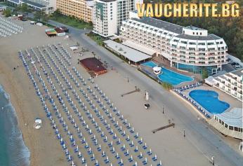 All Inclusive Gold + басейн, чадър и 2 шезлонга на плажа и анимация от хотел Берлин Голдън Бийч, Златни пясъци, НА ПЪРВА ЛИНИЯ