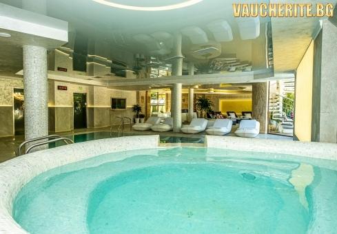 Закуска и вечеря + минерален басейн, СПА център, фитнес и паркинг от СПА хотел Рич, Велинград