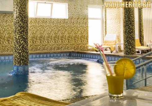 ТОП ОФЕРТА! Закуска и вечеря + минерален басейн, сауна и парна баня от хотел Холидей, Велинград