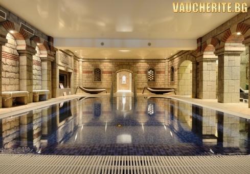 Закуска + вътрешен минерален басейн и СПА център от хотел Галери, Хисаря
