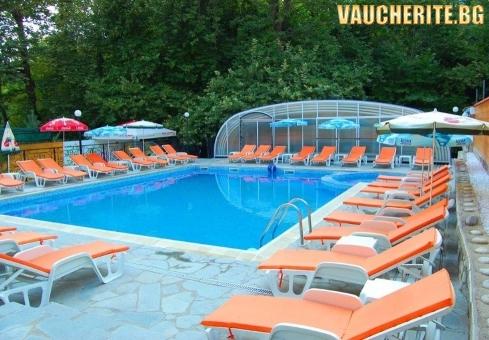 ТОП ОФЕРТА! 3, 4 или 5 нощувки със закуски, обеди и вечери + басейн с минерална вода, парна баня, сауна, интернет и паркинг от хотел Прим, Сандански