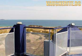 All Inclusive + басейн, шезлонг и чадър на плажа, интернет от хотел Ориос, Приморско