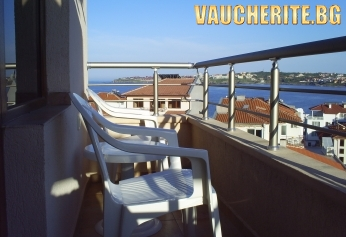 Нощувка + интернет от хотел Чучулев, Созопол на 80м от плажа