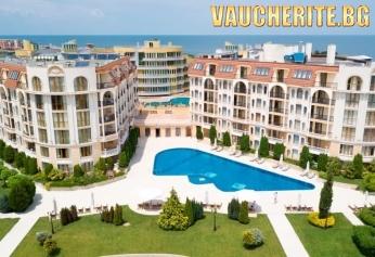 Нощувка + басейн, детски клуб и интернет от хотел Аполония Палас, Синеморец на 50м от плажа